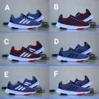 SALE Sepatu adidas kets pria wanita jogging running casual jam tangan