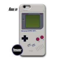Nintendo Game Boy Custom Case Handphone Fullprint 3D