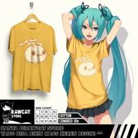 """Tshirt Anime Chibi Digimon Kaos Kuning Kenari ( Bukan Kuning Gmbr )"""