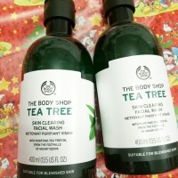 The Body Shop Tea Tree Fac Wash 400ml