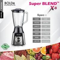 Blender Kaca 1.5 Liter Bolde Super Blend