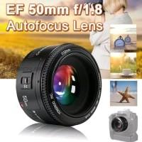 MURAH Lensa Fix YONGNUO YONGNOU YOUNGNOU YOUNGNUO 50MM f1.8 FOR CANON