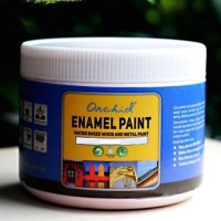 Cat Besi dan Kayu Waterbased Orchid Enamel Paint Solid color minican