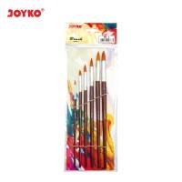 Brush / Kuas Cat Air / Cat Minyak / Lukis / Acrylic Joyko BR-3