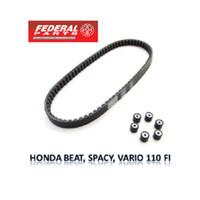 Federal Vanbel V-Belt Kit Honda Beat Fi Scoopy Fi Spacy Fi (KZL)
