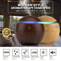 Air Humidifier Essential Oil Aromaterapi Diffuser Desain Kayu