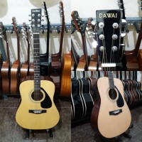 gitar akustik elektrik dawai original mirip yamaha fx310