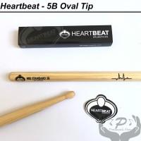 Stick Drum Heartbeat 5B Hickory Oval Tip stik