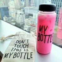 (TERMURAH) Botol Minum My Bottle Gratis Pouch 500ml