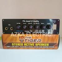 Kit Power Amplifier Speaker Aktif Stereo Karaoke Plus Echo 1400W PMPO