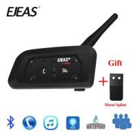 EJEAS V6 Pro Bluetooth Intercom 1200 meter 6 helm VS Vnetphone SENA V8
