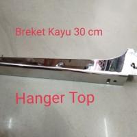 breket kayu 30 cm