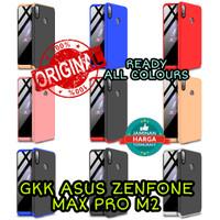 GKK asus zenfone max pro m2 case 360 casing armor anticrack slim keren