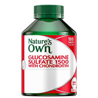 Natures Own Glucosamine Sulfate 1500 With Chondroitin - 100Tabs