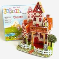 3D Puzzle Mainan Edukatif