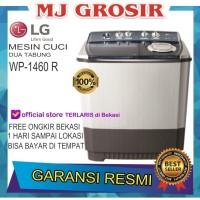 MESIN CUCI LG WP 1460 R 14KG 2 TABUNG 1460R LOW WATT BKS FREE ONGKIR