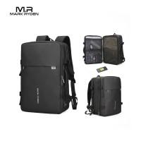 "Mark Ryden MR8057 Backpack Bag USB - Tas Ransel Laptop 17 "" - BLACK"