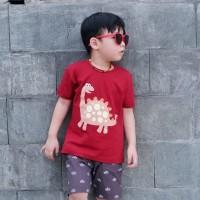 Kaos Anak - Anak | L069 Dinosaur Tee by Little Jergio