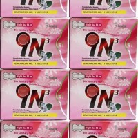 pembalut herbal IN3 night use 1 bal ( isi 8 bungkus )