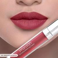 Wardah Exclusive Matte Lip Cream 12 Plum It Up 4 g