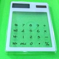 Kalkulator Transparan Cahaya Matahari
