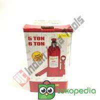 CPT - Dongkrak Botol DOMAX 5 Ton - Dongkrak Mobil Truk Hydraulic