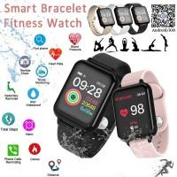 B57 Smartwatch Bluetooth Smartband IP67 Waterproof Monitor Denyut