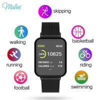 B57 Smartband Wslc Smartwatch Sport Anti Air Fungsi Monitor Tekanan