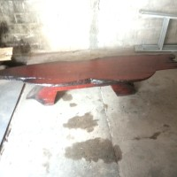 meja kayu antik