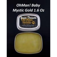 Pomade Oh Man Man! Baby Mystic Gold Mini Wax Based Oilbased 45 Gram