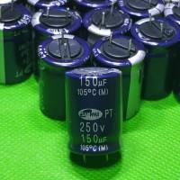 kapasitor capasitor elko elco 150uf 250v 150 uf 250 volt original