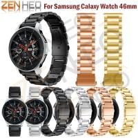Smartwatch Stainless Steeel Gelang Jam untuk Samsung Galaxy 46 Mm