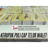 Krupuk Puli/ Lempeng cap TELOR WALET asli Jawa Timur