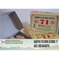Bakpia Pathok Kering 71 asli Jogjakarta (isi 20 pcs)