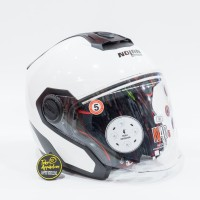 Helm Nolan N40.5 Special Ncom - Pure White