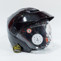 Helm Nolan N40.5 Classic Ncom - Metal Black