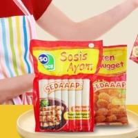 Paket So Nice sosis naget nugget