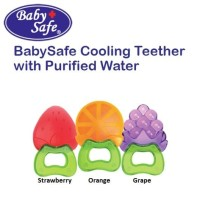 Baby Safe TT001 Cooling Teether with Purified Water Fruit gigitan bayi