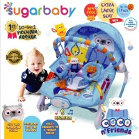 Sugar Baby Sugarbaby 10 In 1 Premium Rocker Extra Large Baby Bouncer