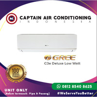 AC SPLIT GREE GWC-07C3E 3/4 PK DELUXE LOW WATT E.A.R.T.H UNIT ONLY