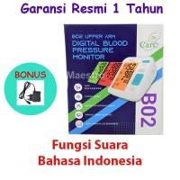 Tensimeter Dr Care B02 Fungsi Suara Dan Warna Alat Ukur Tensi Darah