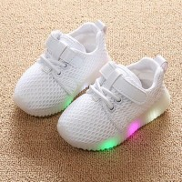 sepatu LED bayi dan anak laki laki dan perempuan sepatu sneakers anak