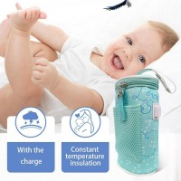 Usb Baby Bottle Warmer Heater Insulated Bag Travel Cup Portable Neweer