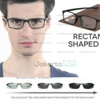 (PAKET GRATIS LENSA TRANSITION) Promo Kacamata Plastik Milestone 2.0