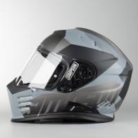 Simpson Venom Army Black Grey Helmet