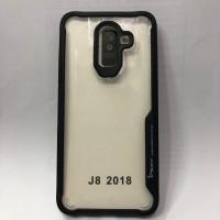 Samsung J8 2018 Black Soft Silicone Bumper Auto Focus Case IPAKY