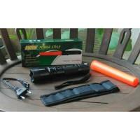 Senter Police StunGun (Senjata, Kejut Listrik, Alat Setrum, Stun gun)