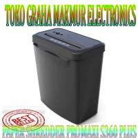 PROMAXI S360 Plus Paper Shredder - Mesin Penghancur Kertas Cross Cut