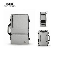 """Mark Ryden MR6656 Backpack Bag USB - Tas Ransel Laptop 17 """" - GRAY"""