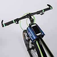 Tas Pannier Slot Penyimpanan Smartphone untuk Frame Depan Sepeda